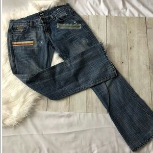 Dolce & Gabbaba Low Rise Jeans Size 32 Inseam 30""